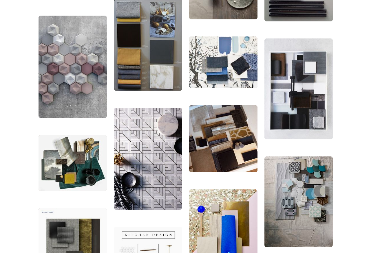 Create a colour board for inspiration